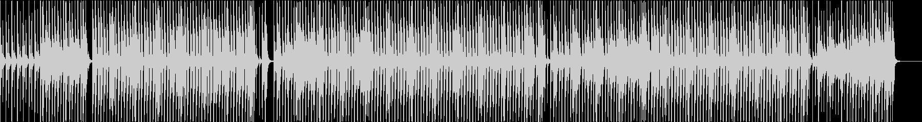 ポップインスト。弾力性陽性。レトロ...の未再生の波形
