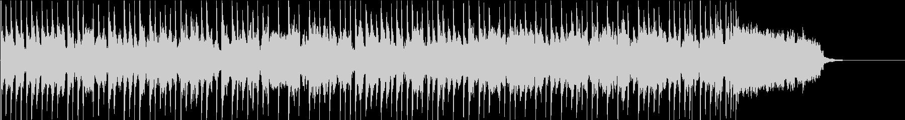 レトロ感の切ないピアノとヴィブラフォンの未再生の波形