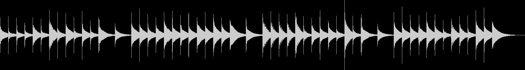 【童謡オルゴール】ひなまつりの未再生の波形