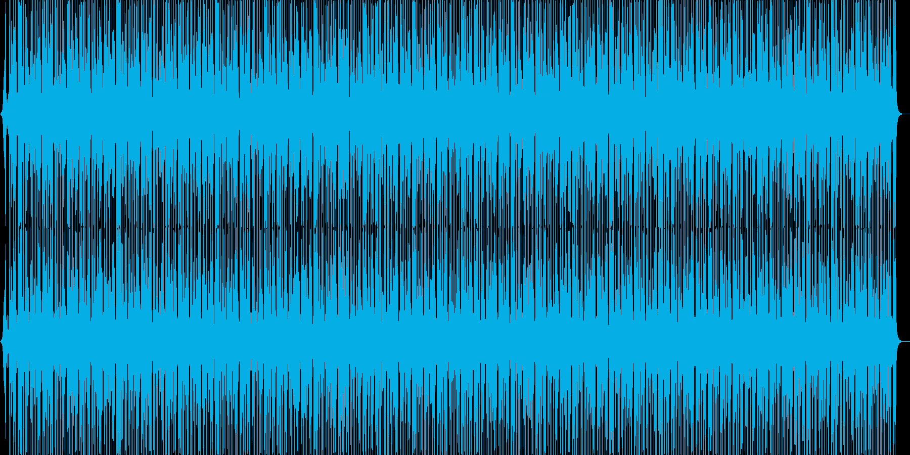 ジャングルBGM(メロ無し)の再生済みの波形