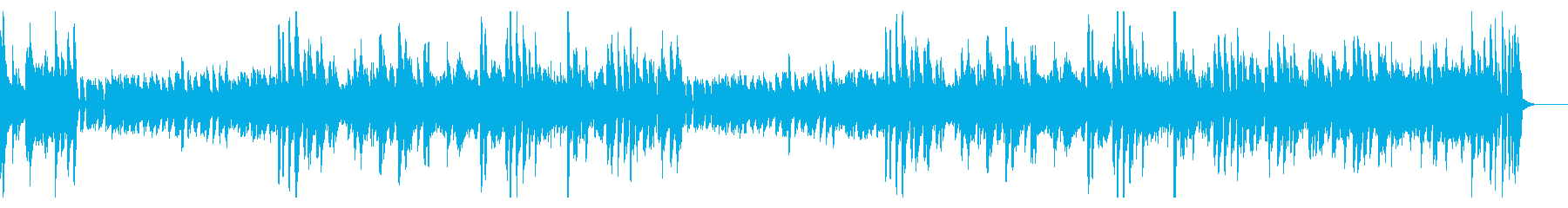 定番の楽しいカントリーピアノ!の再生済みの波形