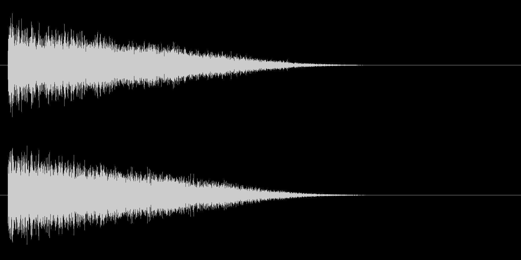 レーザー音-148-3の未再生の波形