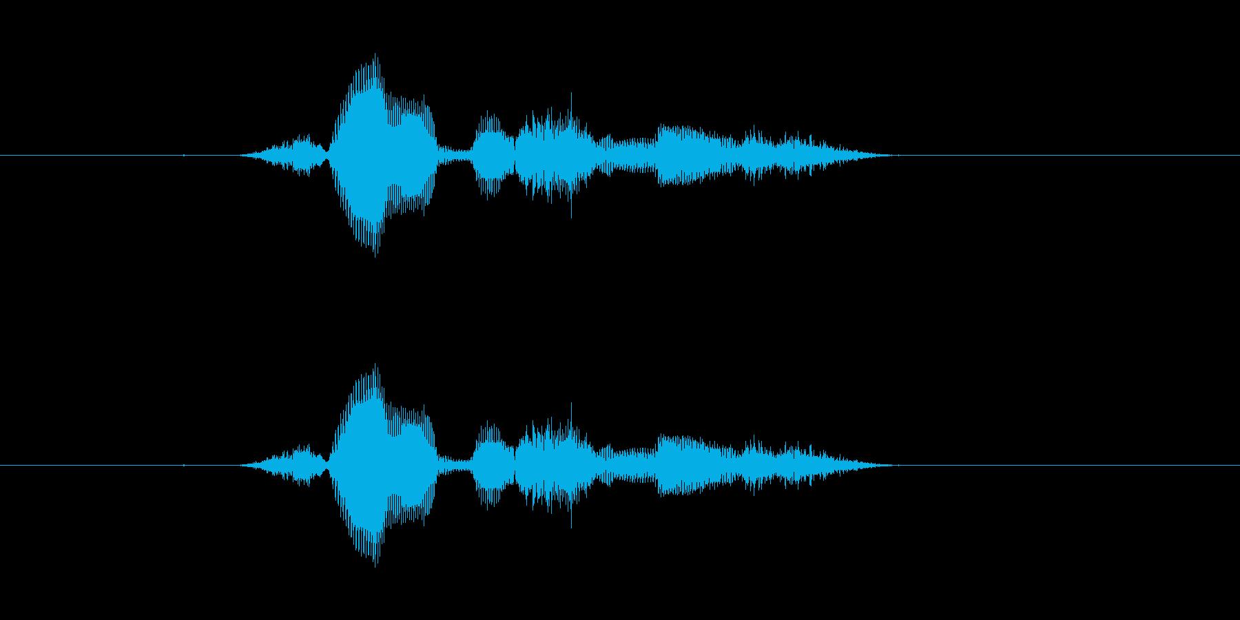 【システム】セーブします - 2の再生済みの波形