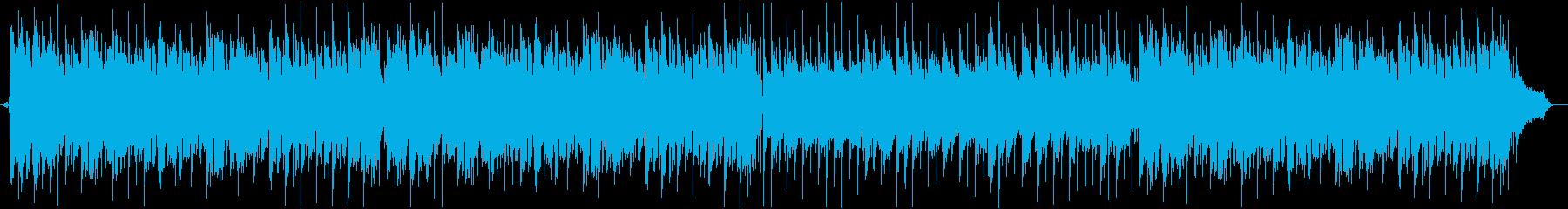 洋楽オールディーズの夏バラードの再生済みの波形