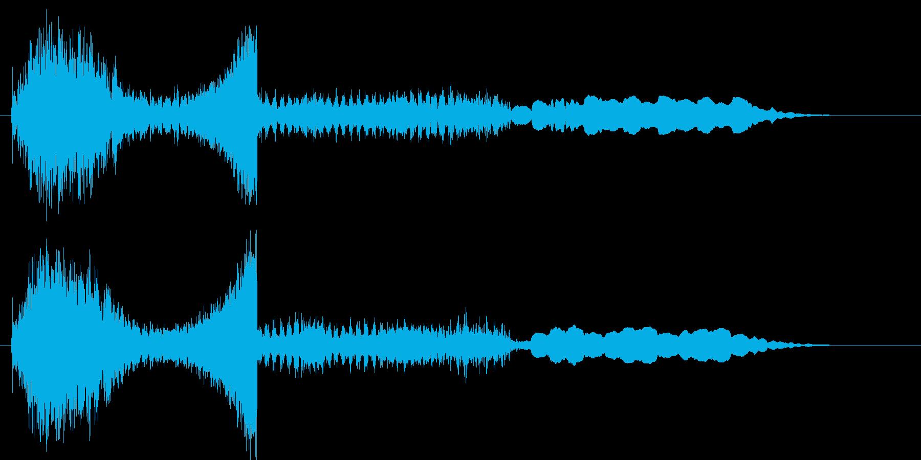 ユンユンユンユン… (UFOの交信音)の再生済みの波形
