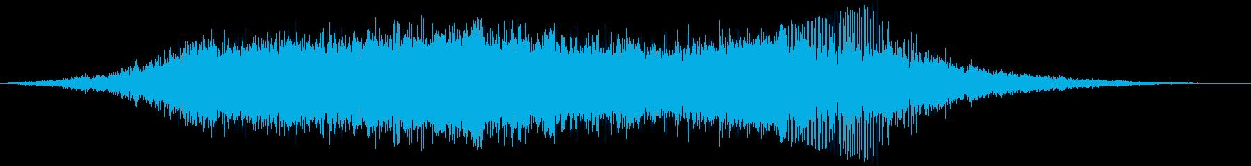 スプリントカートレーシングの再生済みの波形