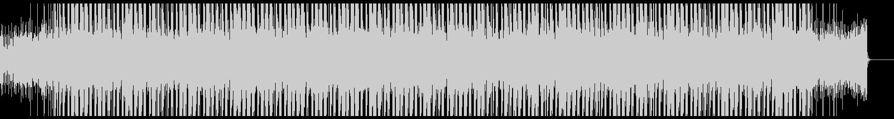 チル系HipHopの未再生の波形