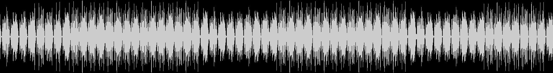 ギター・ブルース・渋い・煙草・ループの未再生の波形