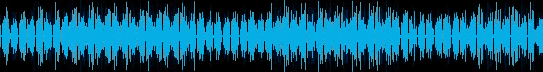 ギター・ブルース・渋い・煙草・ループの再生済みの波形