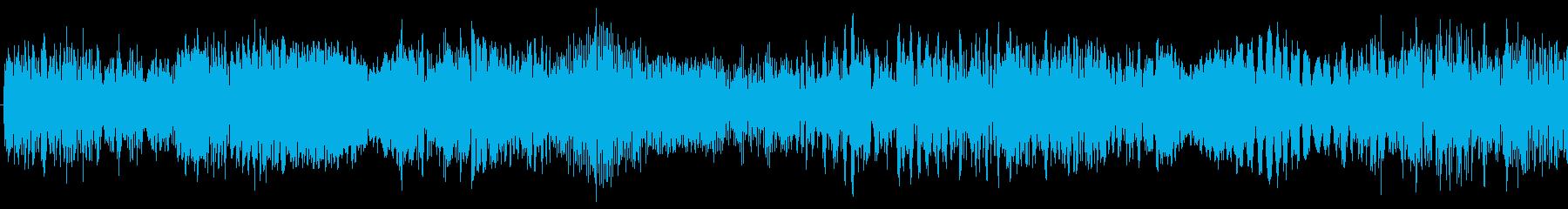 効果音をバラバラに音響編集した楽曲です。の再生済みの波形