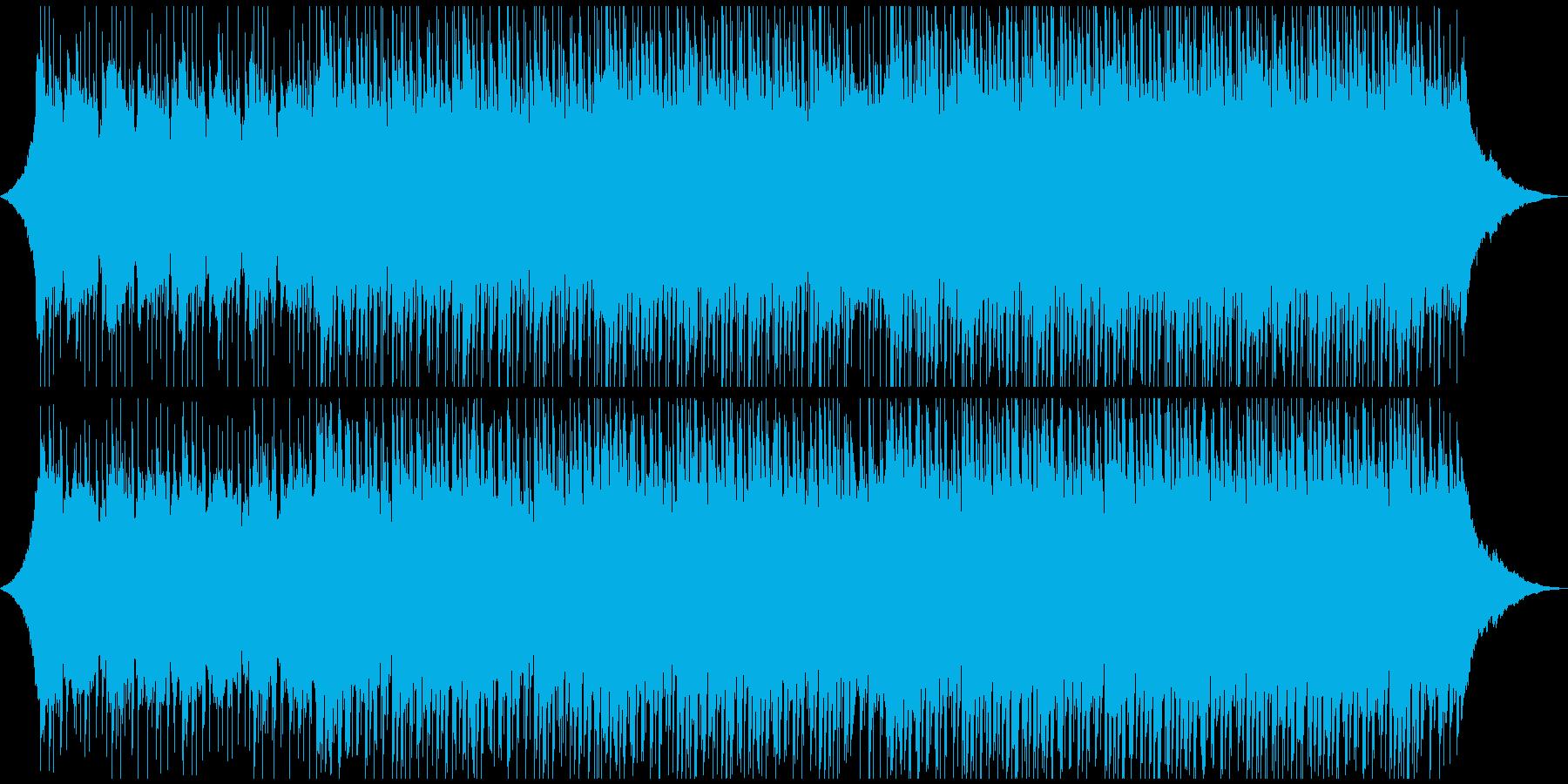 やる気を起こさせる感情(中)の再生済みの波形