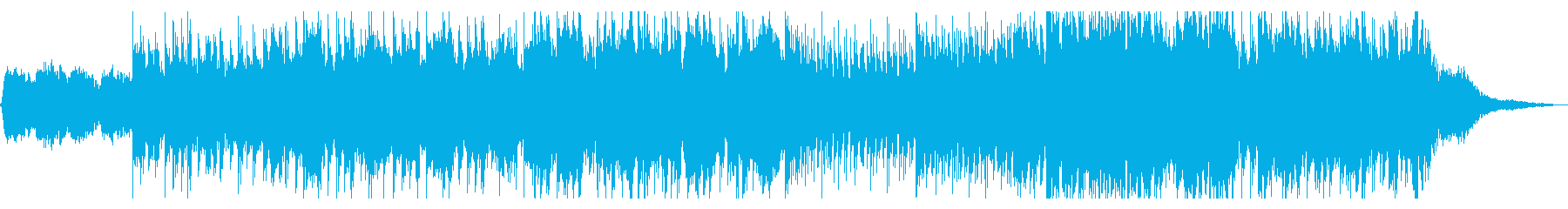 月蝕をイメージしたダークで美しい曲の再生済みの波形
