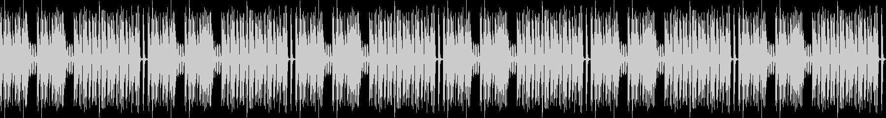 ほのぼの作業用BGMピアノ曲約3分ループの未再生の波形