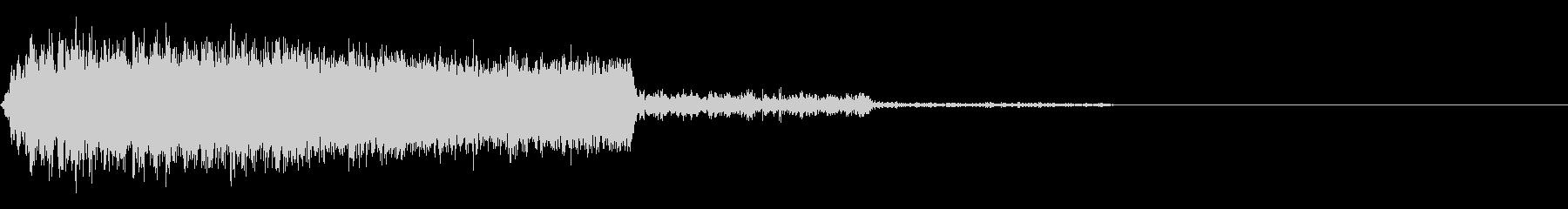 シューッという音EC07_89_2の未再生の波形