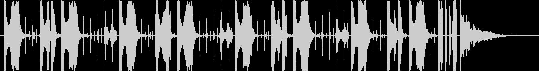 25秒】EDM チル 落ち着き 切なさ の未再生の波形