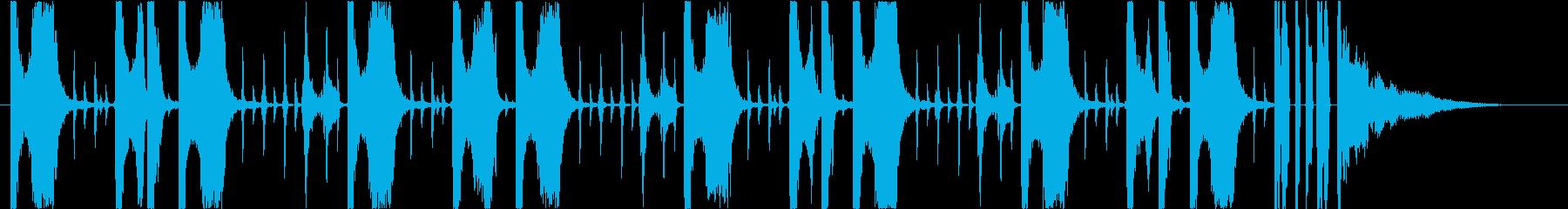 25秒】EDM チル 落ち着き 切なさ の再生済みの波形