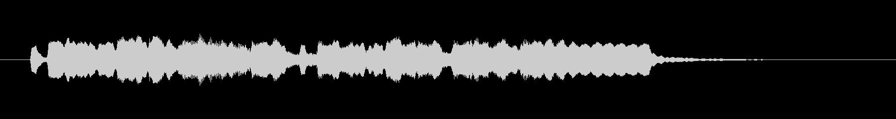 メルヘンで可憐なフルートジングルの未再生の波形