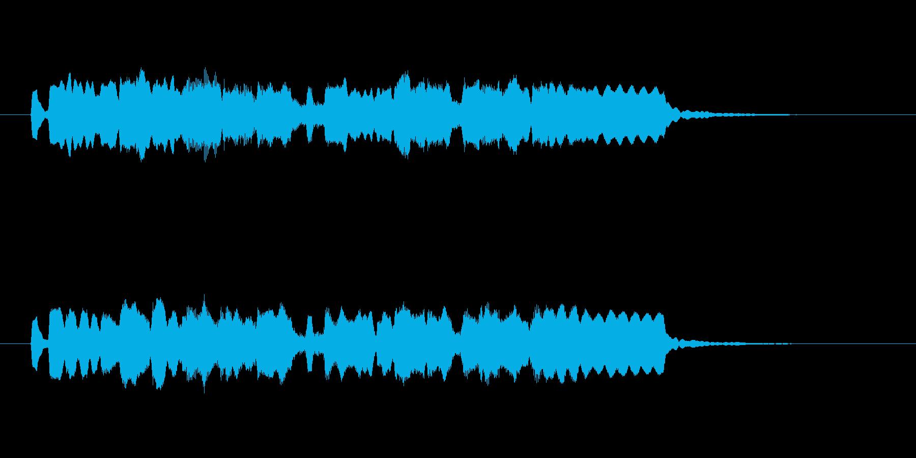 メルヘンで可憐なフルートジングルの再生済みの波形