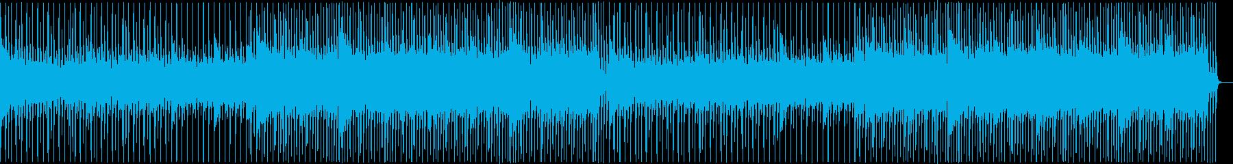 可愛い手拍子のポップス (inst)の再生済みの波形