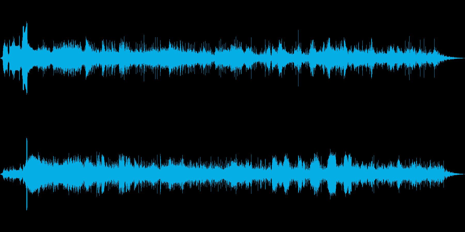 ディーゼルトレインは、エアブレーキ...の再生済みの波形