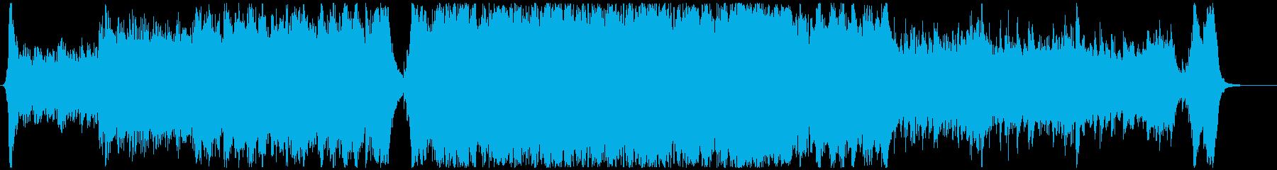 ハリウッド映画風の壮大なオーケストラ2Aの再生済みの波形