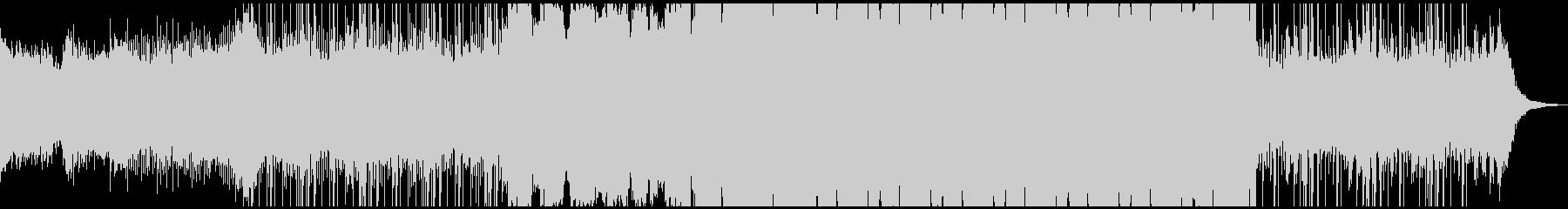 今っぽいサウンドのFutureBassの未再生の波形
