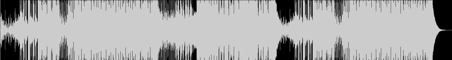 静かなFuture Popの未再生の波形
