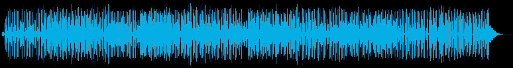 海岸線リゾートで心地よい重低音の再生済みの波形