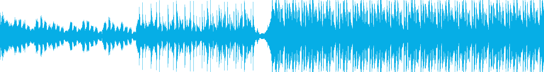VP、CM、クールで軽快な透明感ループbの再生済みの波形