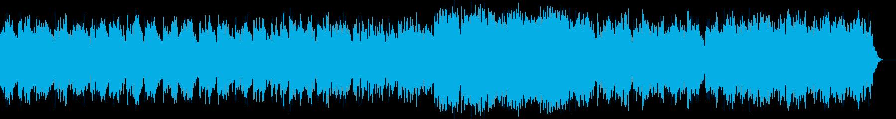 神秘的、幻想的、不思議 エレクトロニカの再生済みの波形
