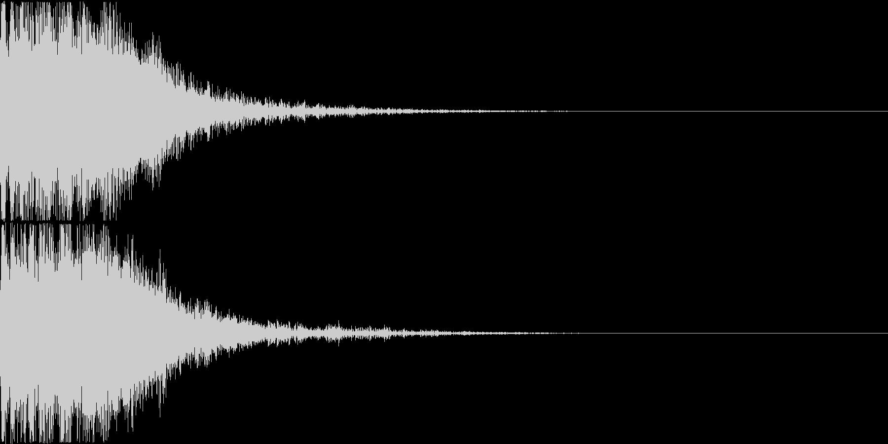 ロボット 合体 ガシーン キュイン 15の未再生の波形