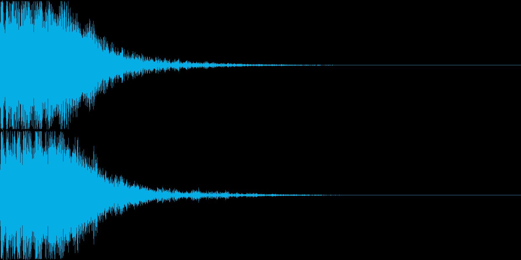 ロボット 合体 ガシーン キュイン 15の再生済みの波形