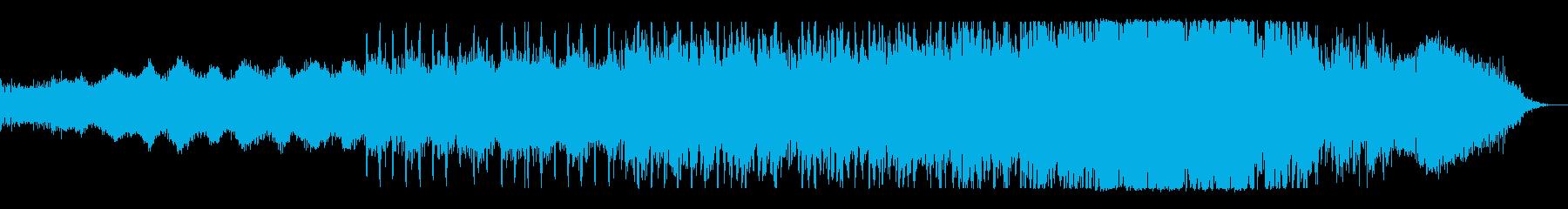 KANTノイズホラーBGM200723の再生済みの波形