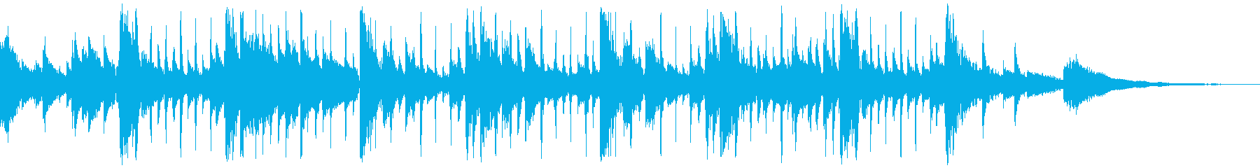 動画 感情的 アコースティックギタ...の再生済みの波形