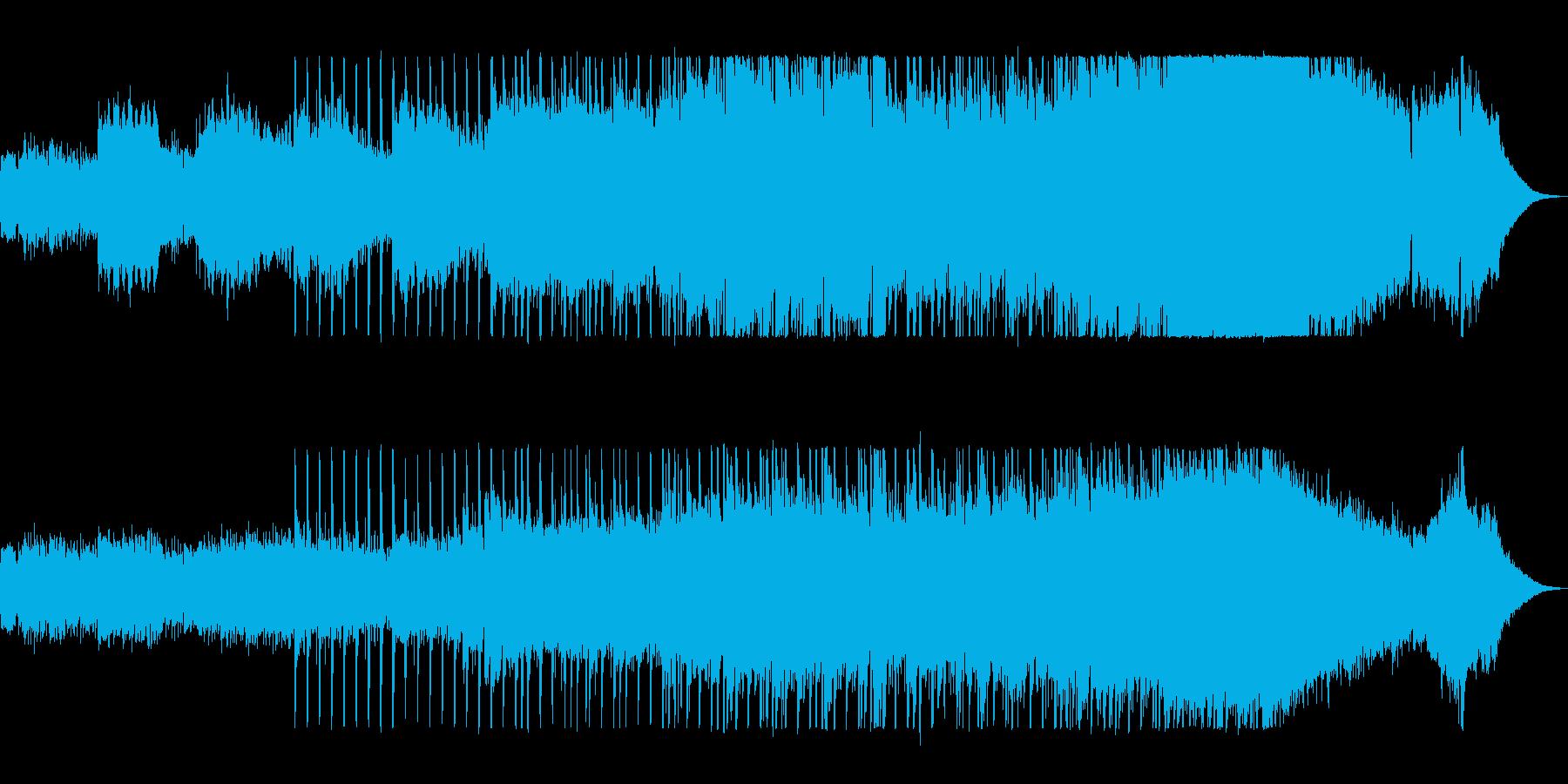 ドラマ感とミステリアスなギターシンセの再生済みの波形