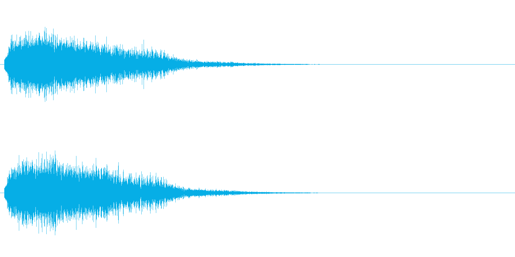 「ギュン!」レーザー発射7の再生済みの波形