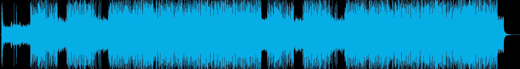 「HR/HM」「DARK」BGM216の再生済みの波形