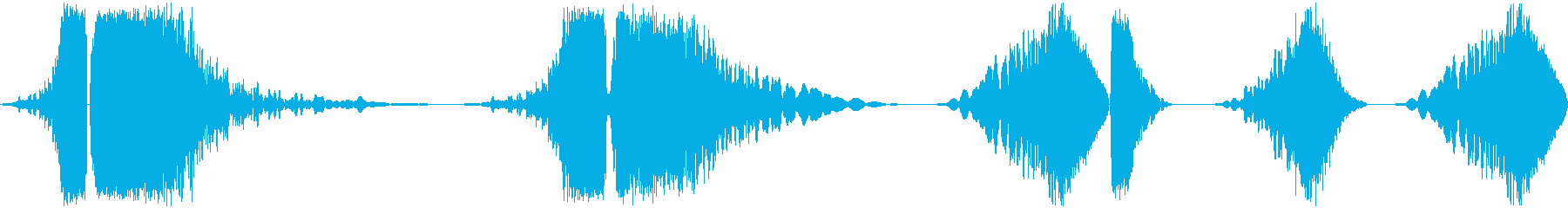 レーザージェネレーターは、ガンと放...の再生済みの波形