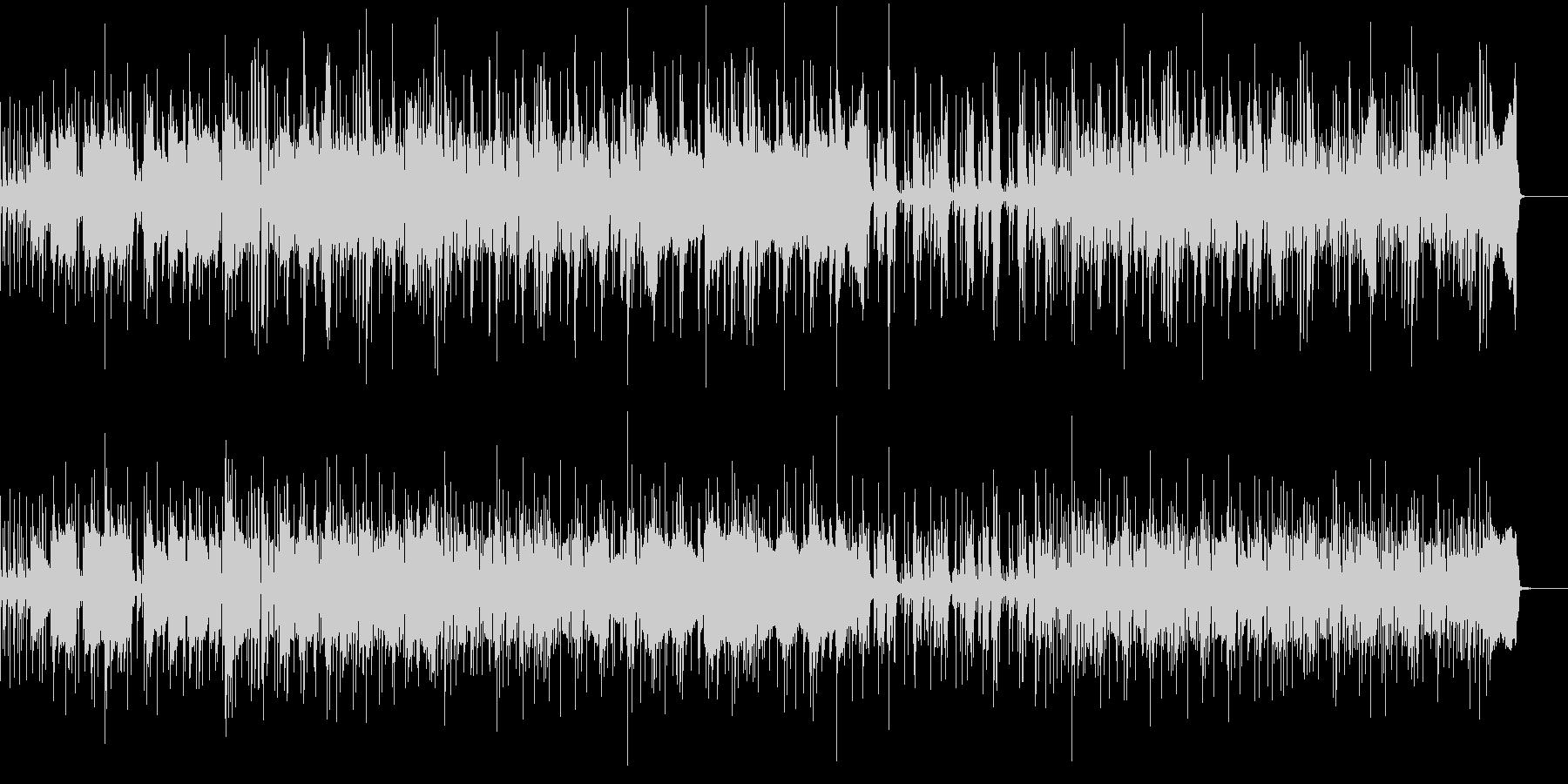 シンセリードの未再生の波形