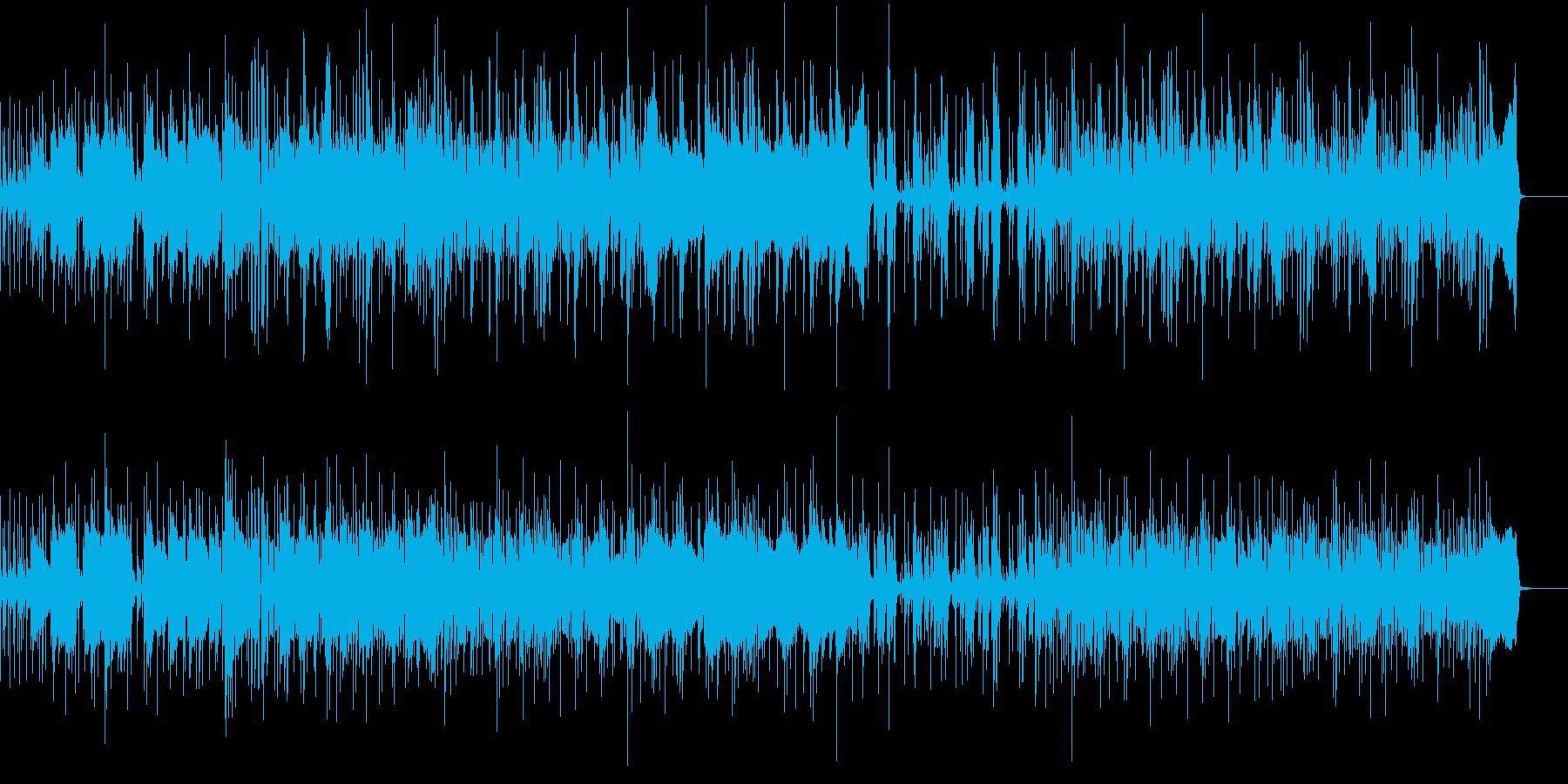 シンセリードの再生済みの波形