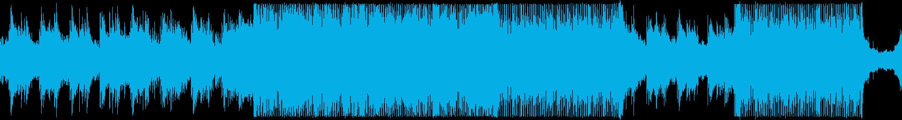 プログレッシブハウス。メロディック...の再生済みの波形