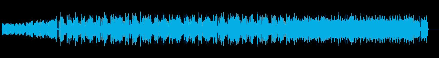戦闘バトルサイバーロックギター無60秒版の再生済みの波形