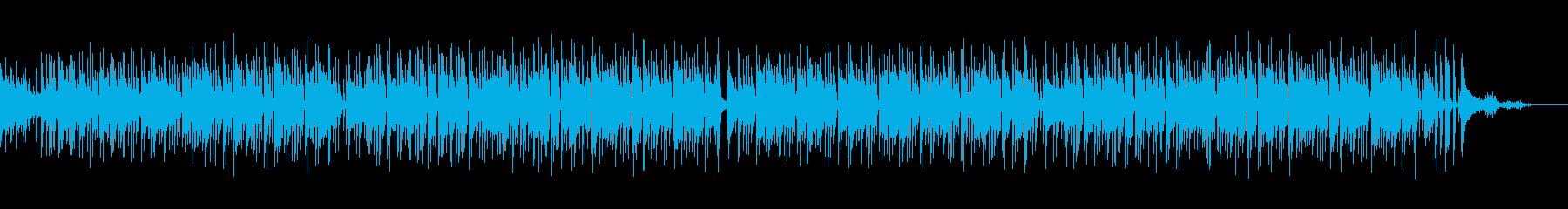 【メロなし】ギター生演奏の爽やかボサノバの再生済みの波形