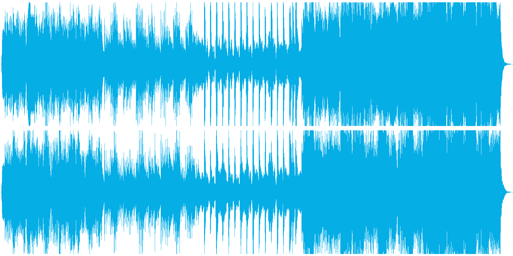 カルテットとピアノの優雅なクラシック曲の再生済みの波形