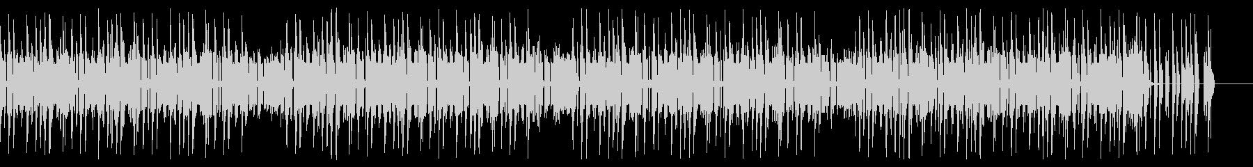 レトロゲーム風チップチューンの未再生の波形