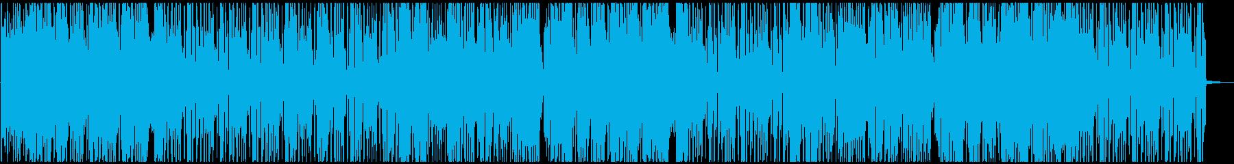 爽やか系HIPHOPSOULの再生済みの波形