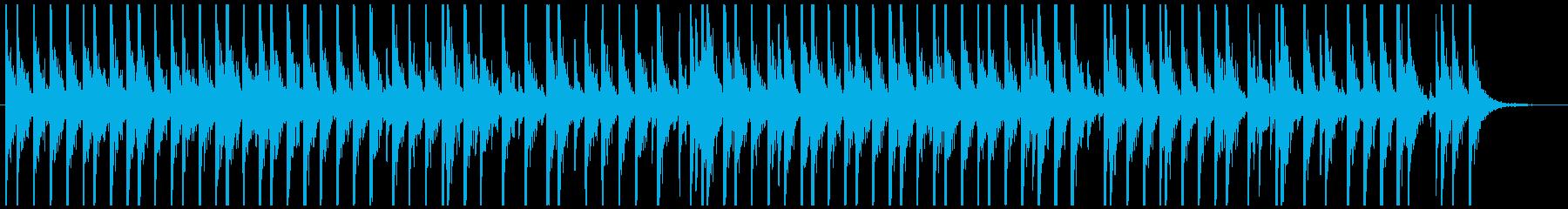相撲の寄せ太鼓風SE その2の再生済みの波形