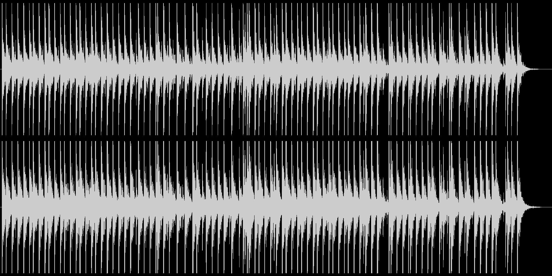 相撲の寄せ太鼓風SE その2の未再生の波形