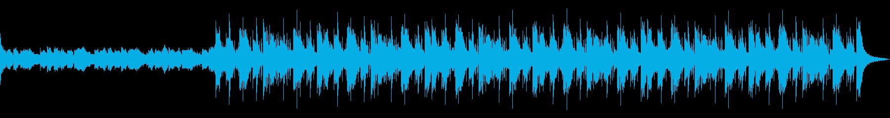 怪しげな雰囲気のHipHopですの再生済みの波形