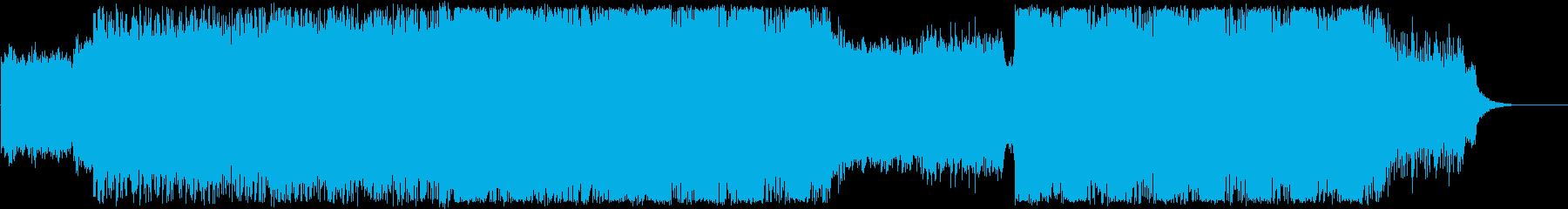 シネマティック、トレーラー、テクスチャーの再生済みの波形